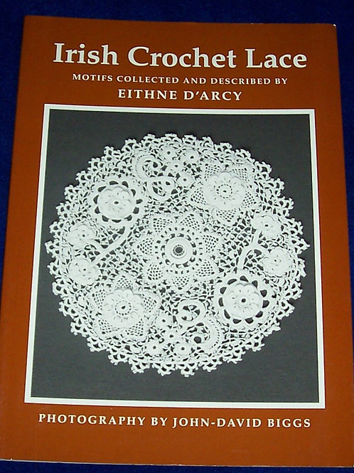 Irish Crochet Lace Motifs from County Monaghan Book Eithne D'Arcy