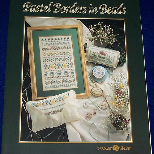Price Change for Customer Cross Stitch Pattern Mill Hill Pastel Borders in Beads