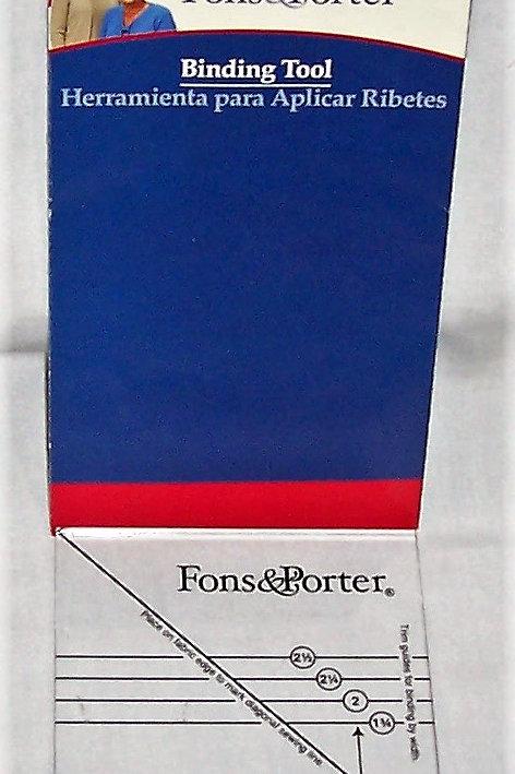Fons & Porter Binding Tool Ruler