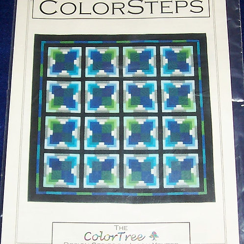 "Color Steps Jason Yenter Pattern 74-1/2""X74-1/2"""