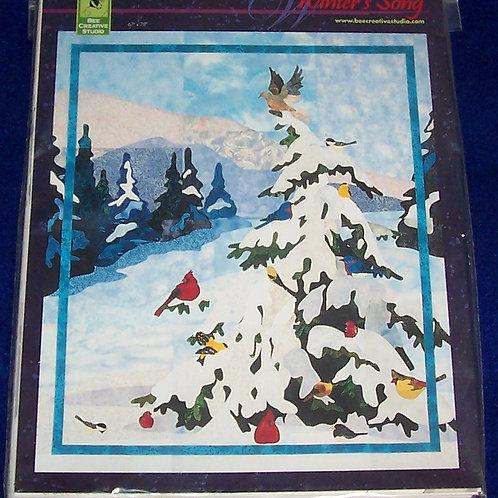 "Winter's Song Nancy Murty Bee Creative Pattern 66""X78"""