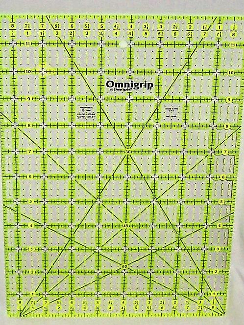 """Omnigrid 8-1/2"""" X 12"""" Ruler"""