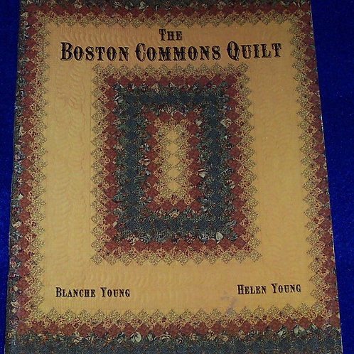 Boston Commons Quilt Paperback Helen Young Blanche Young