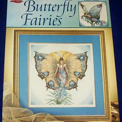 Cross Stitch Pattern Lanarte Butterfly Fairies - 2 Stitch Charts