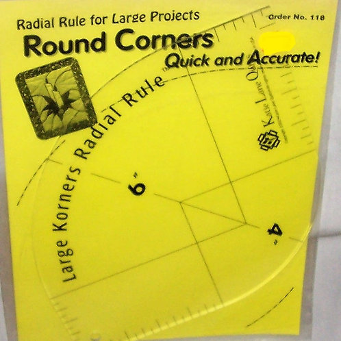 Radical Rule Round Corners Large Projects