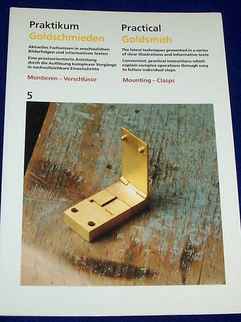 Practical Goldsmith 5 Mounting-Clasp Book Ruhle-Diebener-Verlag