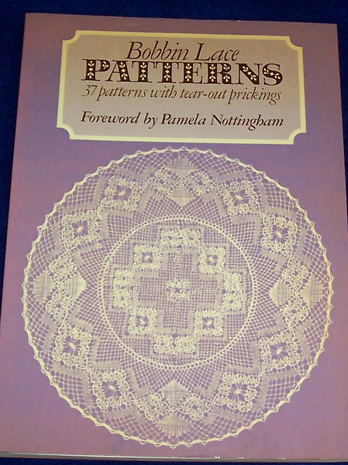 Bobbin Lace Patterns Pamela Nottingham