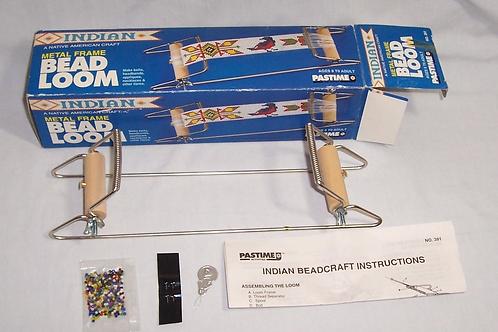 1993 Pastime Bead Loom Metal Frame Make Belts Headbands Necklace