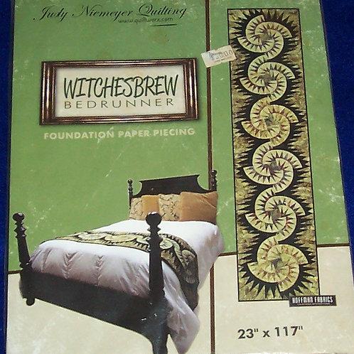 """Witchesbrew Bedrunner Judy Niemeyer Pattern 23""""X117"""""""