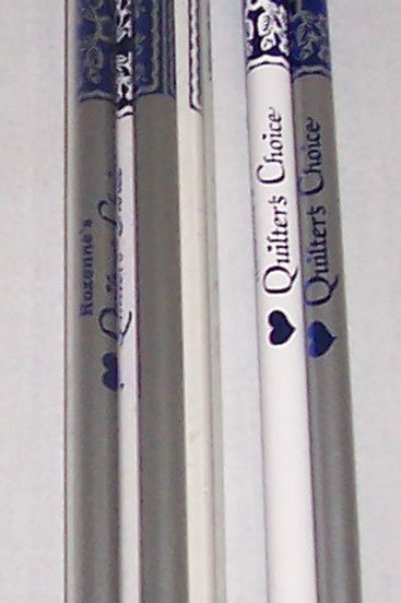Lot of 6 Roxanne's Quilters Choice Marking Pencil Water Soluble Chalk