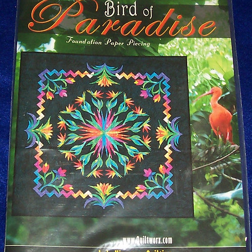 "Bird of Paradise Judy Niemeyer Pattern 71""X71"""