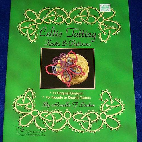 Celtic Tatting Knots & Patterns Book Rozella F. Linden