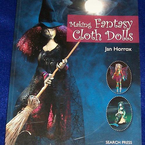 Making Fantasy Cloth Dolls Book Jan Horrox