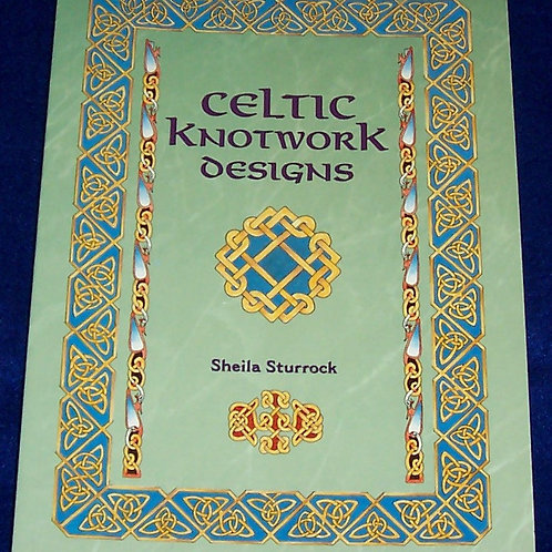 Celtic Knotwork Designs Book Sheila Sturrock