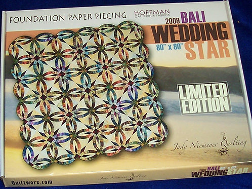 "Bali Wedding Star Limited Edition Judy Niemeyer Pattern 80""X80"""