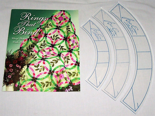 Rings That Bind Book and Templates - Arc-Ease Set of 3