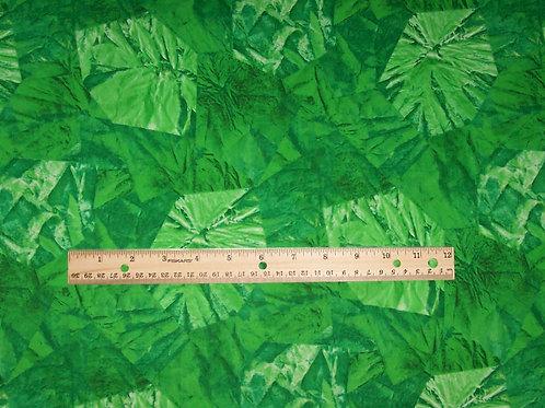 Andover Gail Kessler Jelly Crystal Green Fabric 1-5/8 Yards