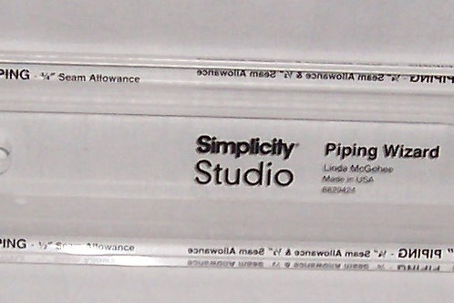 Simplicity Simpli-EZ Piping Wizard Linda McGehee