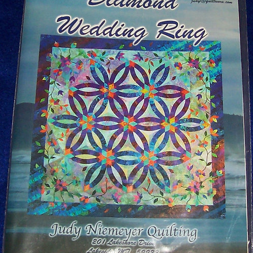 "Diamond Wedding Ring Judy Niemeyer Pattern 70""X72"""