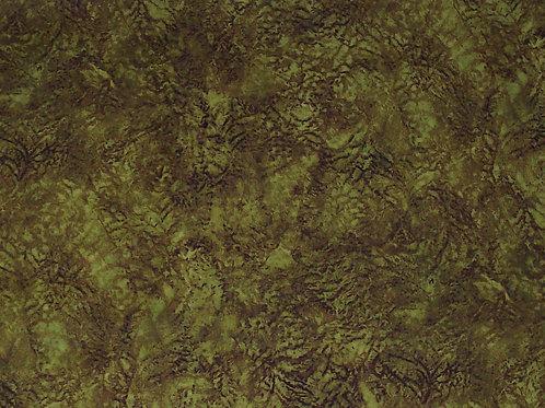 Jinny Beyer Mardi Gras Crepe Paper Gold Fabric