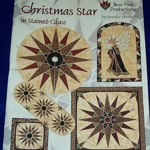Christmas Star in Stained Glass Brenda Henning