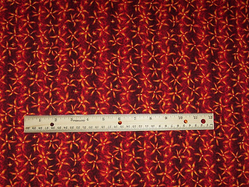 In the Beginning Jason Yenter Wildflower Fabric  1-1/4 yards