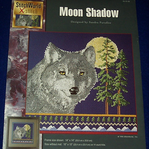Cross Stitch Pattern Moon Shadow Sandra Paradise Stitch Chart