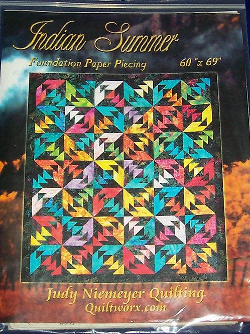 """Indian Summer Judy Niemeyer Pattern 60""""X69"""""""