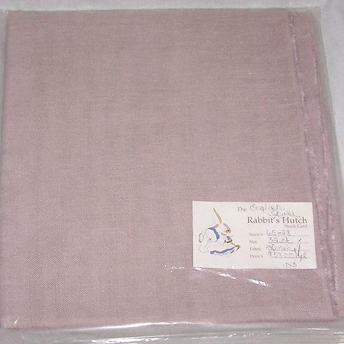 The Rabbit's Hutch English Rose Linen 32 Ct - 1 Yard Cross Stitch Embroidery