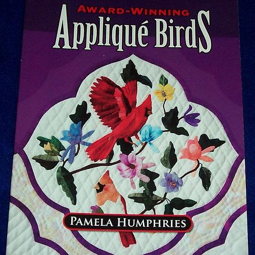 Award-Winning Applique Birds Pamela Humphries