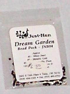 Just-Nan Dream Garden Bead Pack JNB04 Embellishments for Cross Stit