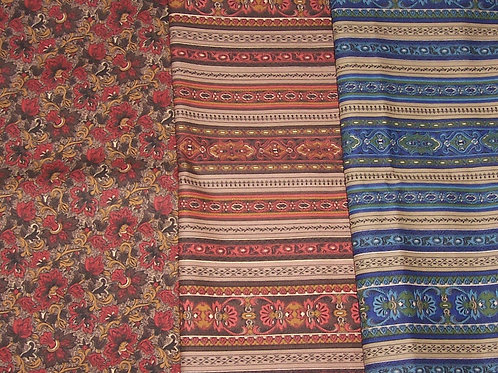 Jinny Beyer Miniature Medley (3 Pcs) 2-2/3 Yards Total