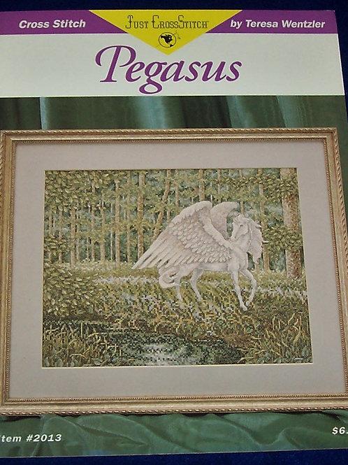 Cross Stitch Pattern Teresa Wentzler Pegasus Stitch Chart