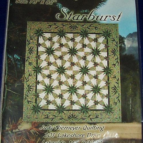 """Starburst Judy Niemeyer Pattern 73""""X82"""""""