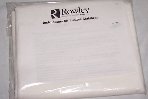Rowley Fusible Stabilizer 2 Yards X Width 60""