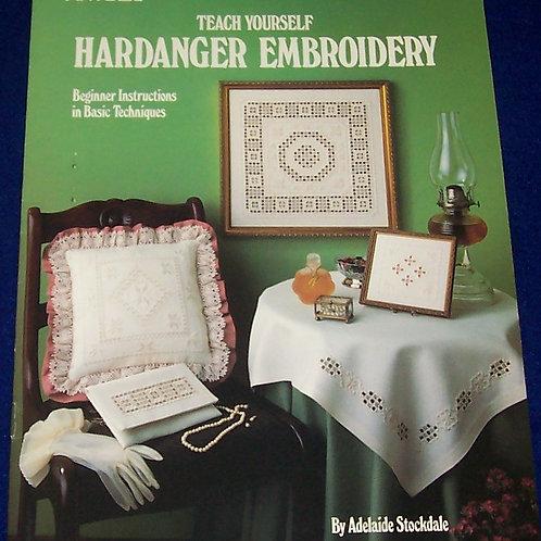Leisrue Arts Teach Yourself Hardanger Embroidery Stockdale