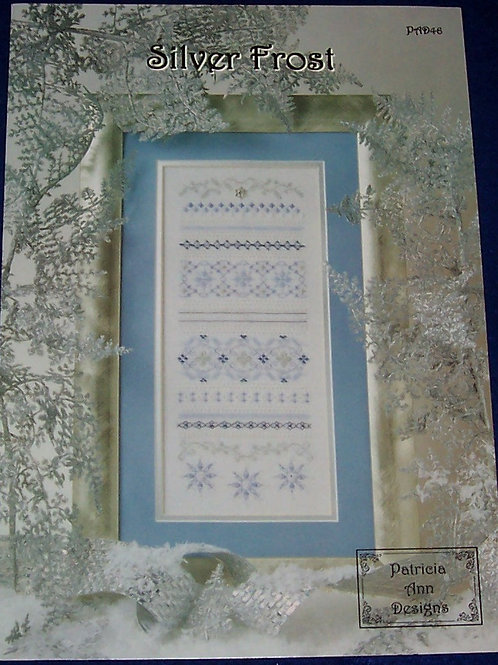 Cross Stitch Pattern Patricia Ann Designs Silver Frost