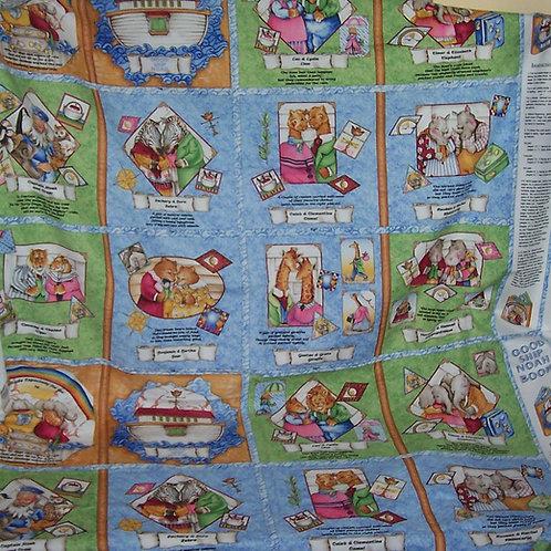 """Good Ship Noah Book Panel 59""""X39"""" SSI"""