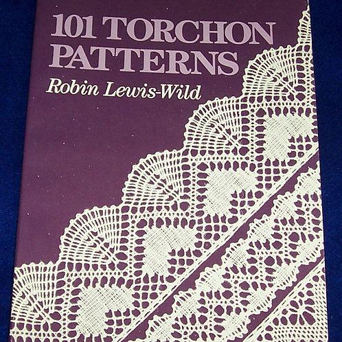 101 Torchon Patterns Robin Lewis-Wild