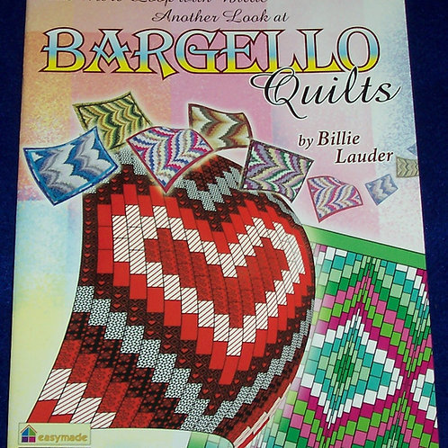 Another Look at BARGELLO Quilts One More Loop with Billie Lauder