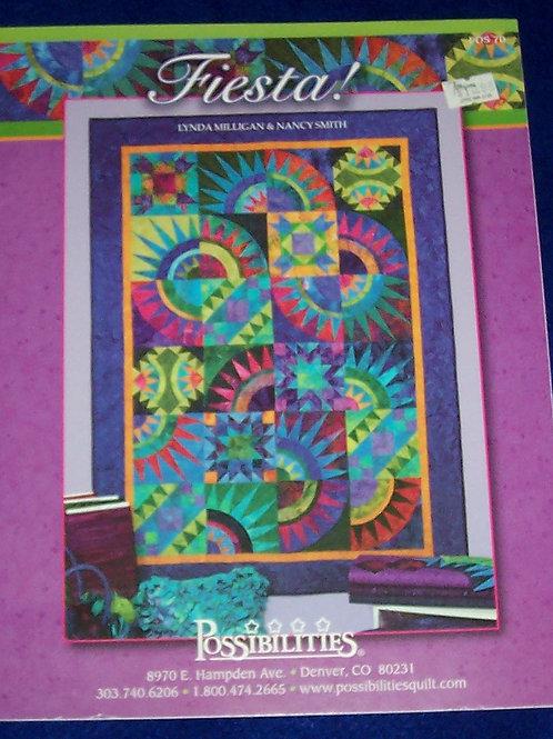 "Fiesta Lynda Milligan Nancy Smith Pattern Booklet 46""X64"""