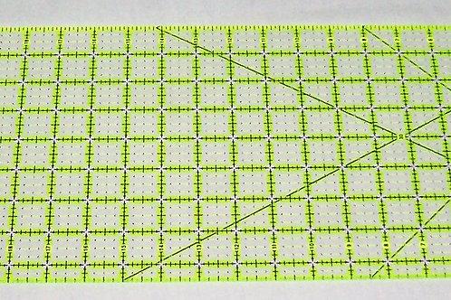 "Omnigrid Neon Non-Slip Ruler 8 1/2"" X 24"""