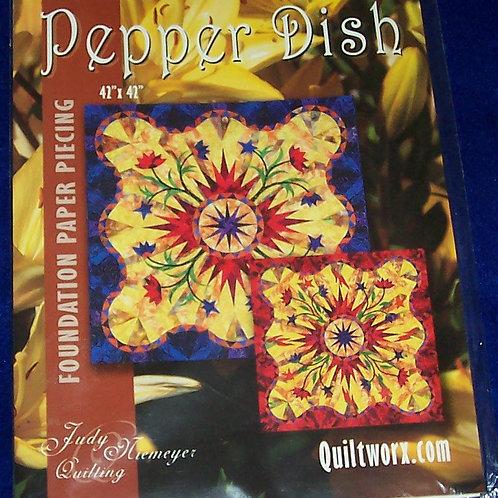 "Pepper Dish Judy Niemeyer Pattern  42""X42"""