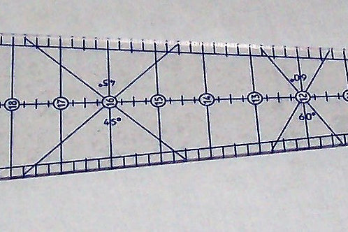 Phillips Fiber Art 10 Degree Wedge Ruler