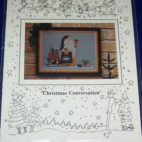 Cross Stitch Pattern Mosey 'N Me Christmas Conversation Stitch Ch