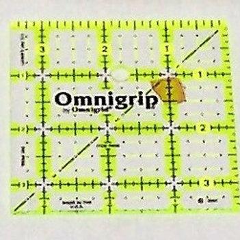 """Omnigrid 3-1/2"""" Square Ruler"""