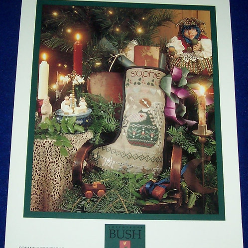 Cross Stitch Pattern Shepherd's Bush Sophie's Stocking