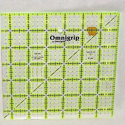 """Omnigrid Omnigrip 6-1/2"""" Square Ruler"""