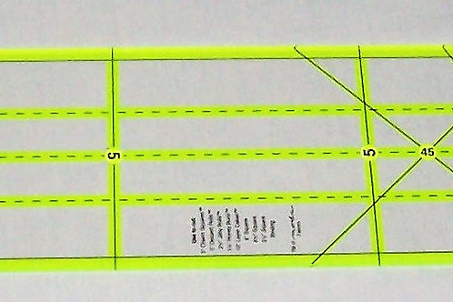 Omnigrip by Omnigrid Non-Slip Neon Specialty Ruler Cuts Squares Jelly Rolls Moda