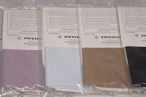 """5 Zweigart 18""""X 21"""" 1) 25CT 1) 18CT 3) 28CT Cross Stitch Linen"""